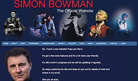 Simon Bowman Actor & Singer